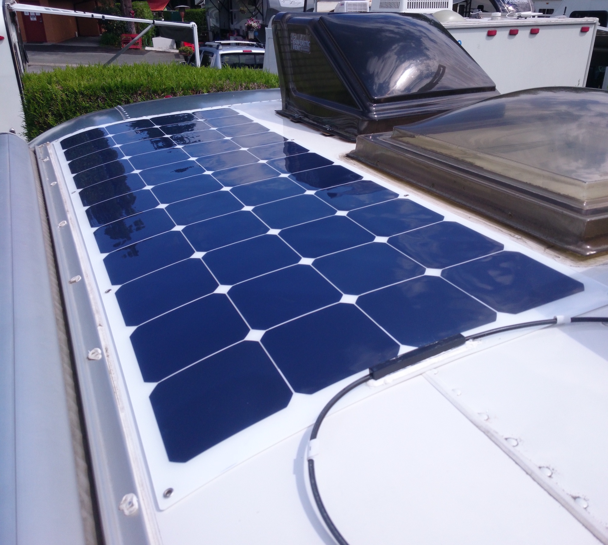 Solar Panel Installation Tiny Shiny House On Wheels